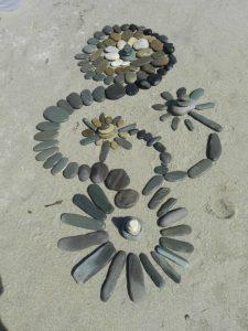 fleurs de galets