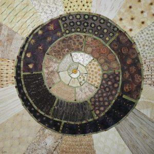 spirale de diifférentes texturesres