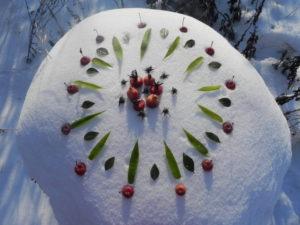 gateau de neige