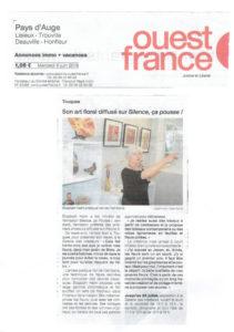 article de presse expo Touques