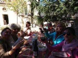 repas au pavillon Anne de Bretagne